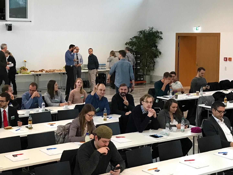 Die Aula der Hochschule Heilbronn